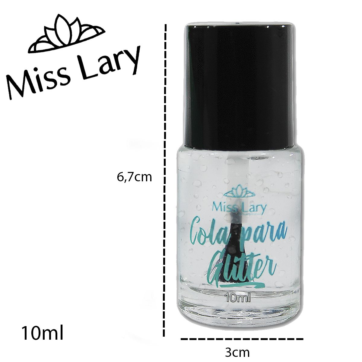 Cola para Glitter Miss Lary  ML-511  10ml Cada