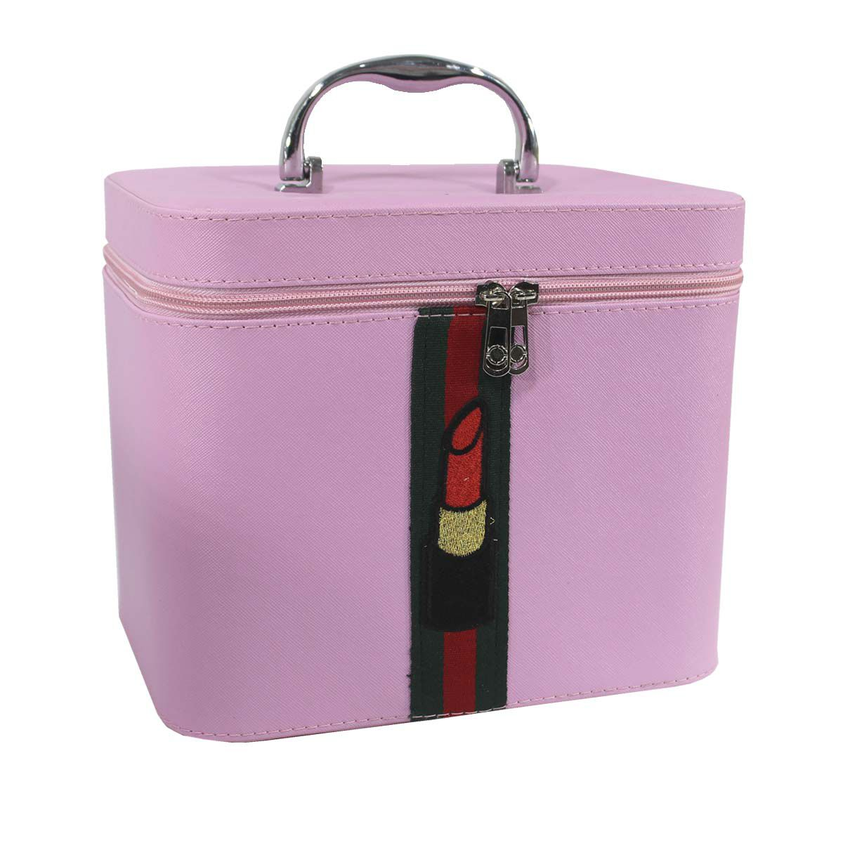 Maleta Frasqueira + Kit de  Maquiagens Completa Luisance e brindes BZ51