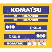 Kit Adesivos Komatsu D60a