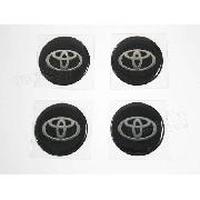 Adesivos Emblema Resinado Roda Toyota 58mm Cl4