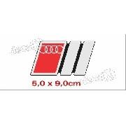 Emblema Adesivo Resinado Audi Res9