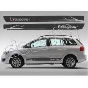 Adesivo Faixa Volkswagen Space Cross Sf005