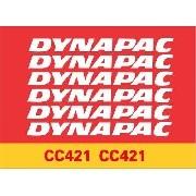 Kit Adesivos Dynapac Cc421