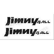 Emblema Adesivo Suzuki Jimny 4all Par Jmny4a