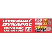 Kit Adesivos Dynapac Ca250