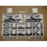 Kit Adesivo Suzuki Gsxr 1000 2005 Preta 10005pt