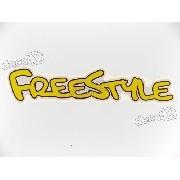 Par Adesivos Ford Ecosport Freestyle Amarelo Frstlam