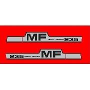 Kit Adesivos Massey Ferguson Mf235 Mod02