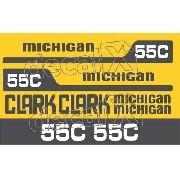 Kit Adesivos Michigan Clark M55c