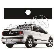 Emblema Adesivo Tampa Traseira Volkswagen Saveiro 2010
