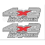 Emblema Adesivo F250 4x2 Max Power 4x2mxp