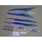 Kit Adesivos Suzuki Yes 125 2009 Azul 10205