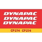 Kit Adesivos Dynapac Cp274