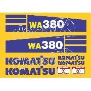 Kit Adesivos Komatsu Wa380