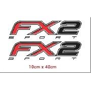 Emblema Adesivo Ford Fx2 Sport Fx2spt