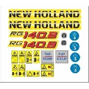 Kit Adesivos New Holland Rg 140.b Rg140.b