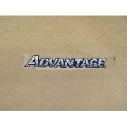 Adesivo Advantage Chevrolet S10/blazer Resinado Dx0395