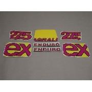 Kit Adesivos Agrale Ex 1994 Amarela 00425