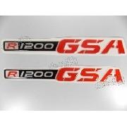 Emblema Adesivo Resinado Bmw R1200 Gsa 18x02 Cms Res11