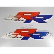 Emblema Adesivo Resinado Bmw S1000 Rr Tricolor Res15