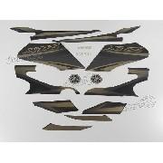 Kit Adesivos Xtz 125 2012 Preta 10355