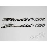 Emblema Adesivo Resinado Suzuki Bandit 1200