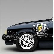 Adesivo Paralama Chevrolet Chevette Pl002