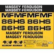 Kit Adesivos Massey Ferguson Mf 86hs 86hs