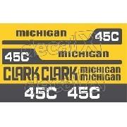 Kit Adesivos Michigan Clark M45c 45c