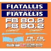 Kit Adesivos Fiatallis Fb 80.2