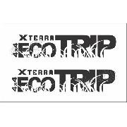 Adesivo Faixa Laterai Nissan Xterra Eco Trip 4x4 Xter78
