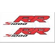 Emblema Adesivo Bmw S1000rr Branca Par Bws1000rr7