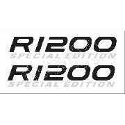 Emblema Adesivo Bmw R1200gs Special Edition Branca Par