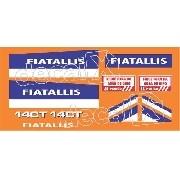Kit Adesivos Fiatallis 14ct3