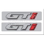 Adesivo Coluna Volkswagen Gol Gti Ate 1994 Par Ad014