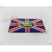 Emblema Adesivo Resinado Land Rover Bandeira Inglaterra Band