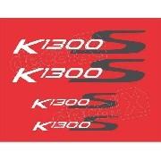 Kit Emblemas Adesivo Bmw K1300s Vermelha Bwk1300s03
