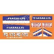 Kit Adesivos Fiatallis Fd 170