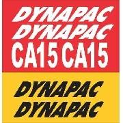 Kit Adesivos Dynapac Ca15