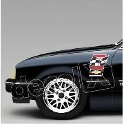 Adesivo Paralama Chevrolet Chevette Pl003