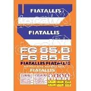 Kit Adesivos Fiatallis Fg85b