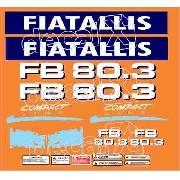 Kit Adesivos Fiatallis Fb 80.3