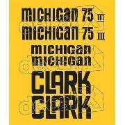 Kit Adesivos Michigan Clark 75se