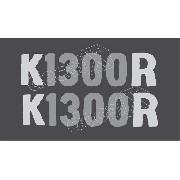 Emblema Adesivo Bmw K1300r Laranja Par Bwk1300r02