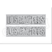 Emblema Adesivo Voyage Los Angeles 1984 Ad026