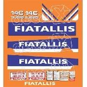Kit Adesivos Fiatallis 14ct2