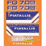 Kit Adesivos Fiatallis Fg70b