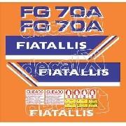 Kit Adesivos Fiatallis Fg70a