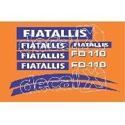 Kit Adesivos Fiatallis Fd 110