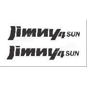 Emblema Adesivo Suzuki Jimny 4sun Par Jmny4su
